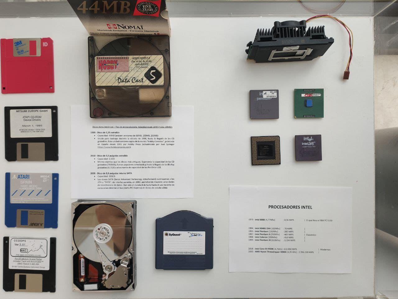 Museo Informática (Procesadores)